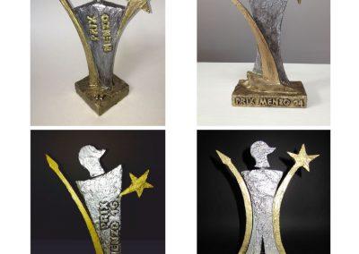 Prix Menzo, Auszeichnung für den Menziker des Jahres, Figur abgeleitet vom Dorfwappen mit Ritter Menzo